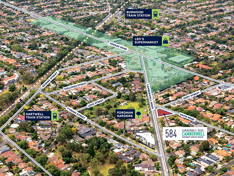 image for property 584 Camberwell Road, CAMBERWELL, VIC 3124